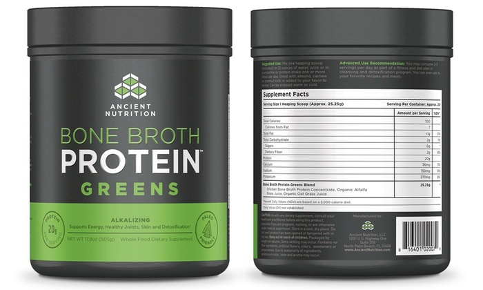 bone broth nutrition benefits nutrition up to 39 off on bone broth protein supplement groupon goods