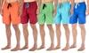 Men's Premium Micro-Peach Finish Swim Trunks