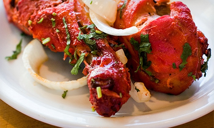 Cowboys and Turbans - Silver Lake: Eclectic Cuisine or a Beer-Garden Meal for Two at Cowboys and Turbans (Up to 60% Off). Three Options Available.