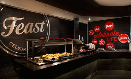All-You-Can-Eat Buffet for 1 ($15), 2 ($29), 3 ($40) or 4 Adults ($50) at Springwood Feast Restaurant (Up to $112 Value)
