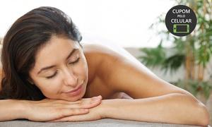 Maria Linda Estética: Maria Linda Estética – Alphaville Comercial: 4, 8 ou 12 visitas com drenagem + massagem modeladora ou relaxante