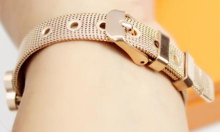 Bracciali metallici da donna
