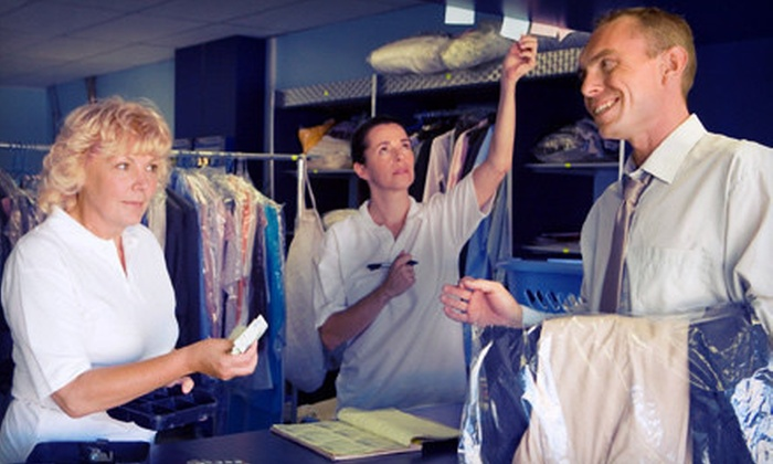 Big Z Cleaners - Multiple Locations: Dry-Cleaning and Laundry Services (Half Off). Two Options Available.
