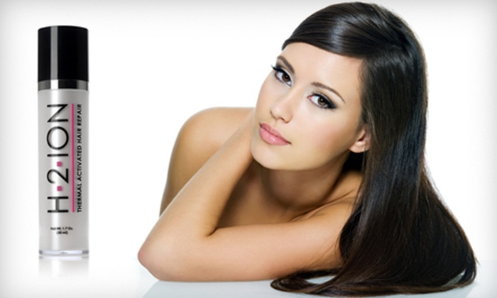 H2-Ion Hair-Repair Serum: $19 for a H2-Ion Thermal-Activated Hair-Repair Serum ($79.95 List Price)