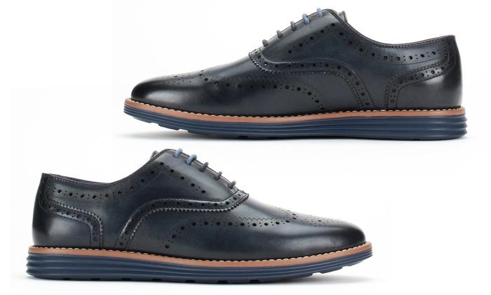 Harrison Men's Wingtip Casual Oxford Shoes