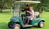 Golf-Kart fahren für 2 Personen