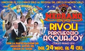 Circo Medrano, Rivoli: Circo Medrano - Dal 24 maggio al 4 giugno a Rivoli (sconto fino a 60%)