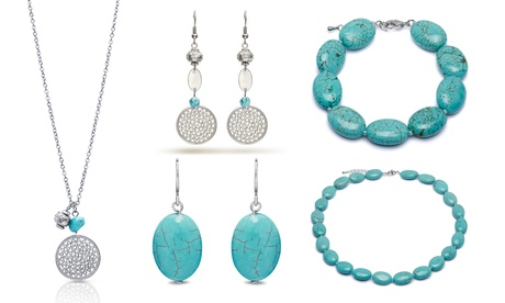 Collar, pulsera o pendientes con piedras OMG Jewel