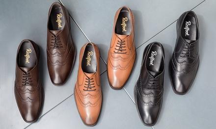 Redfoot Herren-Leder-Schuhe in Schwarz, Braun oder Tan (Stuttgart)