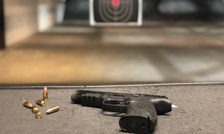 $17.50 for Lane Fee and Single Caliber Firearm Rental at Granite State Indoor Range & Gun Shop ($35 Value)