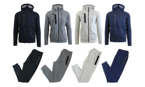 Men's Tech Fleece Hoodie and Jogger Set (2-Piece)