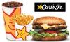 全米で大人気ハンバーガー店「カールスジュニア」|選べるバーガー+ポテト+ドリンク