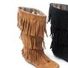 Unionbay Women's Fringe Boots