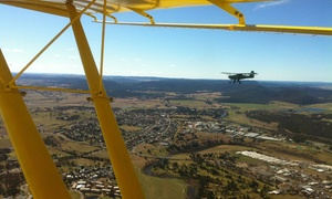 Goulburn Flight Training Centre: Trial Introductory Flight - One ($99) or Two Hours ($189) with Goulburn Flight Training Centre (Up to $440 Value)