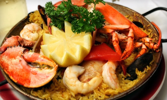 Cafe Espanol - West Village: Tapas Dinner for Two with Desserts and Coffee Drinks Sunday-Thursday or Friday-Saturday at Cafe Espanol (Up to 70% Off)