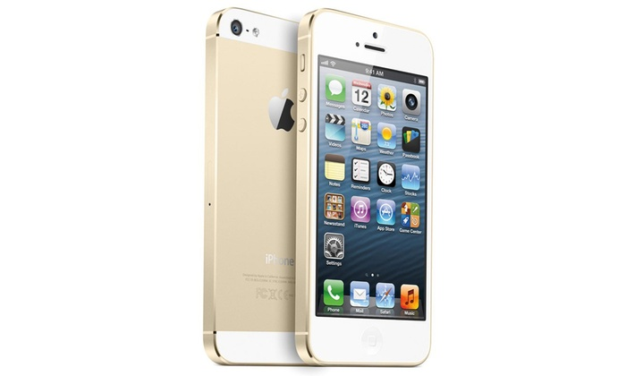 iphone 5s reconditionn 16 32gb groupon. Black Bedroom Furniture Sets. Home Design Ideas