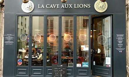 """Cours d'œnologie """"Tour de France"""" de 2h et dégustation de vin pour 1 ou 2 pers. dès 34,90 € à La Cave Aux Lions"""
