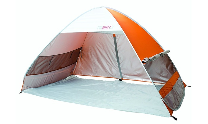 Primax Pop Up Family Beach Tent with 50+ UPF Sun Protection
