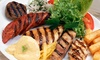 Griekse mixed grill (vanaf 2 p.)