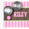 52% Off Personalized Pet Food Mats