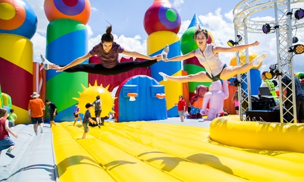 Two or Four Admission Tickets at The Big Bounce America (Up to 47% Off)