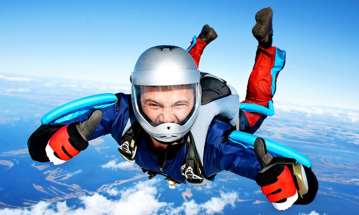High Sky Adventures - Fremont County Airport: $230 for Static-Line Skydiving for Two with Video  from High Sky Adventures ($310 Value)