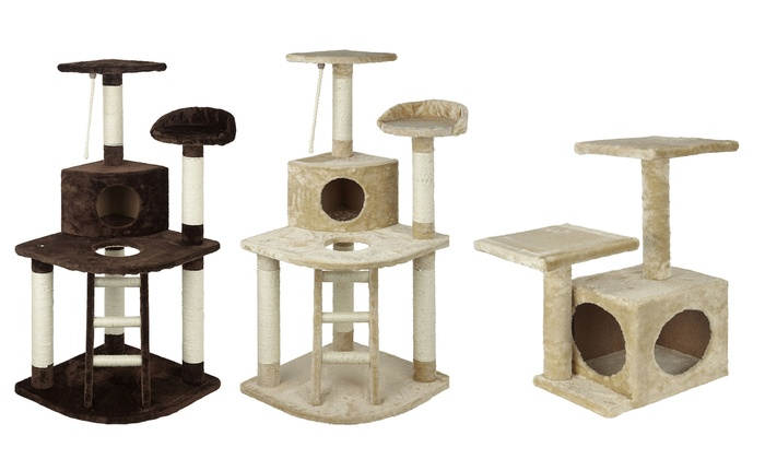 Groupon Goods Global GmbH: Bunty Cat Tree Toy