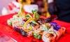 Menú cátering de sushi