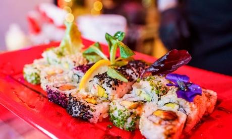 Menú cátering de sushi a domicilio con 50 o 100 piezas en Sushiman
