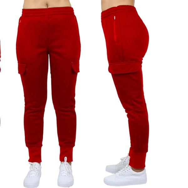 Women's Cargo Jogger Sweatpants