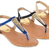 Forever Young Couture Women's Thong Sandal