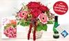 Liebevolles Blumen-Gesteck