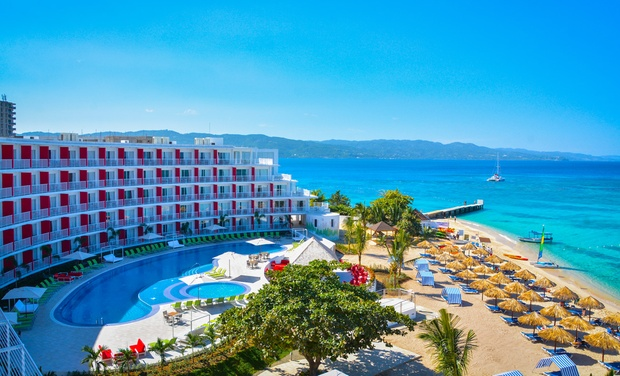 TripAlertz wants you to check out ✈ 5 Night All-Inclusive Royal Decameron Cornwall Beach Stay w/ Air. Price per Person Based on Double Occupancy.  ✈ All-Incls. Royal Decameron Cornwall Beach w/ Air from Travel By Jen  - All-Inclusive Jamaica Vacation