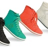 Lady Godiva Women's High-Top Sneakers (Sizes 6.5, 8, 8.5)
