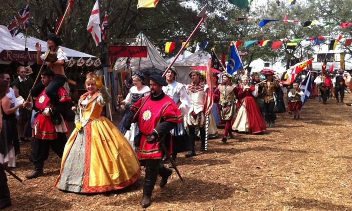Bay Area Renaissance Festival 2020.Bay Area Renaissance Festival In Tampa Fl Groupon
