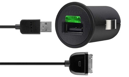 Belkin iPhone Micro Auto Charger for £7.99 (60% Off)