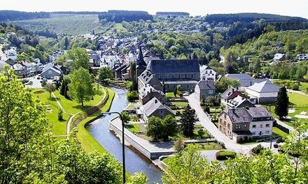 Belgische Ardennen: tweepersoonskamer met ontbijt en naar keuze 3gangendinger in 4* Cocoon Hotel du Commerce