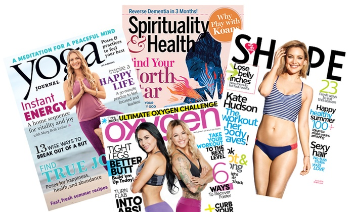 Health and Fitness Magazines (Up to 52% Off )