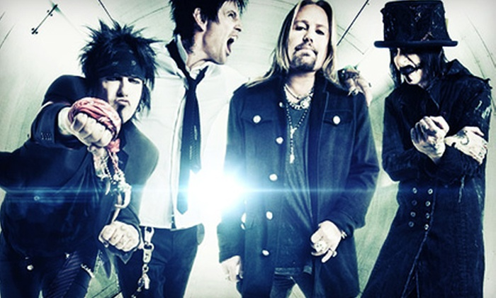 Mötley Crüe - Elmira: Mötley Crüe at Budweiser Summer Stage on July 16 at 8 p.m. (Up to 53% Off)