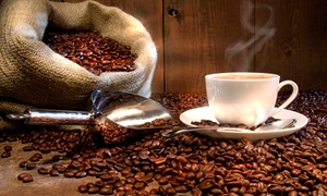 BrewHaha Cafe: One or Two 1-Pound Bags of Specialty Coffee Beans Delivered from BrewHaha Cafe (Up to 73% Off)