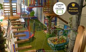 Lolukids: Lolukids – Estância Velha: festa infantil para 40 ou 60 pessoas, a partir de 12x sem juros de R$ 124,92