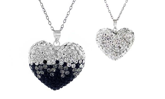 b4f2533a7fb0 Up To 85% Off on Crystal Necklace Made with Swarovski Elements ...