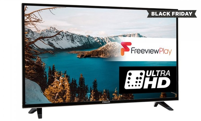 Finlux 55'' 4K Ultra HD Freeview HD LED Smart TV for £399 With Free Delivery (56% Off)