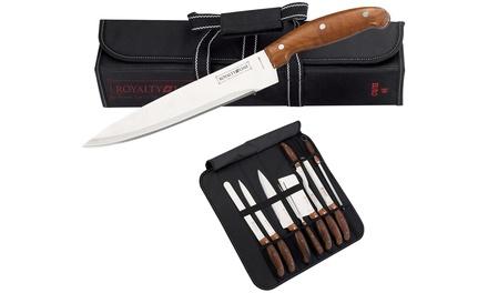 Nine-Piece Knife Set in Bag