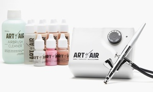 Art of Air Professional Airbrush Makeup System (13-Piece)