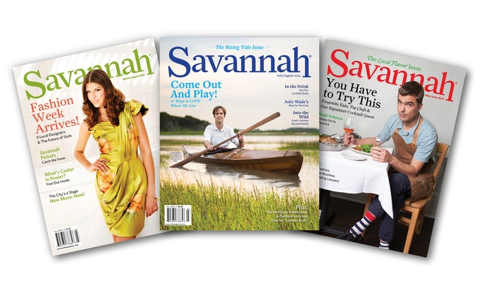 "Savannah Magazine: Two- or Three-Year Subscription to ""Savannah Magazine"" (50% Off)"