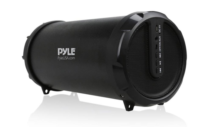 Pyle Portable Bluetooth Wireless Boombox Stereo System: Pyle Portable Bluetooth Wireless Boombox Stereo System