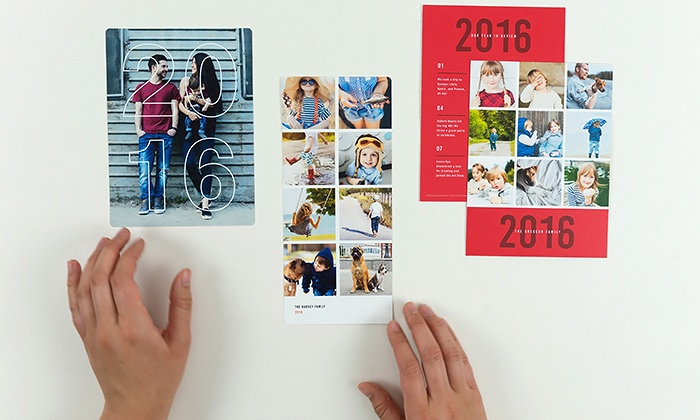 Paper Culture: Custom Holiday Cards from Paper Culture (Up to 83% Off). Three Options Available.