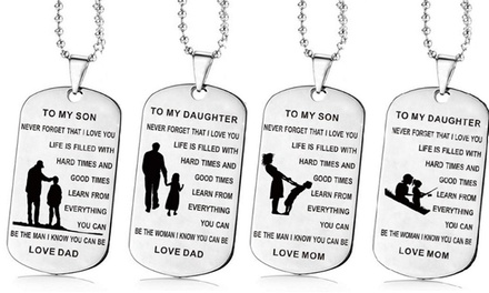 Love Message Necklaces