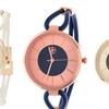 Fortune NYC Women's Silicone Strap Watch